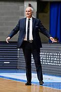 Coach Pancotto <br /> Pallacanestro Cantu' - A X Armani Exchange Milano <br /> Basket Serie A LBA 2020/2021<br /> Desio 15 November 2020<br /> Foto Mattia Ozbot / Ciamillo-Castoria