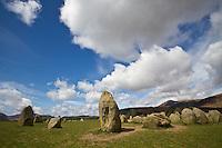 Castlerigg Stone Circle, Lake District, Cumbria, UK