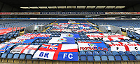 A general view of Ewood Park, home of Blackburn Rovers<br /> <br /> Photographer Dave Howarth/CameraSport<br /> <br /> The EFL Sky Bet Championship - Blackburn Rovers v West Bromwich Albion - Saturday 11th July 2020 - Ewood Park - Blackburn <br /> <br /> World Copyright © 2020 CameraSport. All rights reserved. 43 Linden Ave. Countesthorpe. Leicester. England. LE8 5PG - Tel: +44 (0) 116 277 4147 - admin@camerasport.com - www.camerasport.com