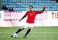 Fotball , 1. juni 2012 , Euro qual. U21 Norge - Azerbaijan 1-0<br /> Norway - Azerbaijan<br /> Anders Konradsen , Norge