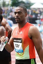 Samsung Diamond League adidas Grand Prix track & field; Mens 100 meters, B race, Tyson Gay, USA, winner