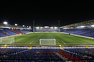 a General view of inside an empty Selhurst Park hours before k/o. Emirates FA Cup 3rd round replay match, Crystal Palace v Bolton Wanderers at Selhurst Park in London on Tuesday 17th January 2017.<br /> pic by John Patrick Fletcher, Andrew Orchard sports photography.