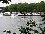 Henley Royal Regatta, Henley on Thames, Oxfordshire, 28 June - 2 July 2017.  Saturday  11:17:34   01/07/2017  [Mandatory Credit/Intersport Images]<br /> <br /> Rowing, Henley Reach, Henley Royal Regatta.<br /> <br /> The Women's Double Sculls<br />  B.C. Donoghue & O.K. Loe (Waiariki Rowing Club, New Zealand)