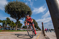 Andi Bajc of Amplatz - BMC during prologue (2km) of 13th Istrian Spring Trophy cycling race on March 10, 2016 in Umag, Croatia. Photo by Urban Urbanc / Sportida