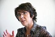 Brussels, Belgium, Sep 20, 2010, VRT radio manager Els Van De Sijpe. PHOTO © Christophe Vander Eecken