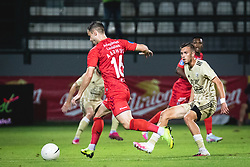 during football match between NS Mura and AGF Aarhus in Second Round of UEFA Europa League Qualifications, on September 17, 2020 in Stadium Fazanerija, Murska Sobota, Slovenia. Photo by Blaz Weindorfer / Sportida