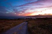 Sunset over Bantry Bay, west Cork, Ireland.