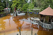 Flooding in Abita Springs Park and Playground August 13, 2016