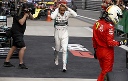 April 14, 2019 - Shanghai, China - Motorsports: FIA Formula One World Championship 2019, Grand Prix of China, ..#44 Lewis Hamilton (GBR, Mercedes AMG Petronas Motorsport) (Credit Image: © Hoch Zwei via ZUMA Wire)