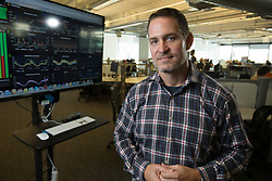 Chris Phillips, the chief product officer for Pandora Media, poses for a photograph in the company's Oakland, Calif. headquarters, Tuesday, Sept. 5, 2017. (Photo by D. Ross Cameron)