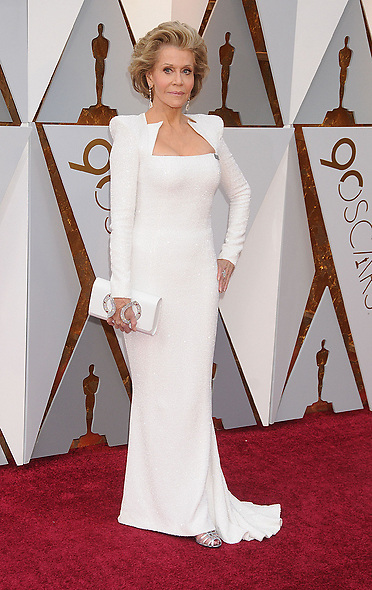 March 5, 2018 - Los Angeles, California, USA - 3/4/18.Jane Fonda at the 90th Annual Academy Awards (Oscars) presented by the Academy of Motion Picture Arts and Sciences..(Hollywood, CA, USA) (Credit Image: © Starmax/Newscom via ZUMA Press)