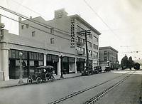 1916 C.E. Toberman Co. building on the SE corner of Hollywood Blvd. & Highland Ave.