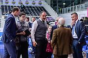 DESCRIZIONE : Trento Beko All Star Game 2016<br /> GIOCATORE : Maurizio Biggi Dan Peterson Mazzoni Calbucci<br /> CATEGORIA : Arbitro Referee Before Pregame Fair Play<br /> SQUADRA : AIAP<br /> EVENTO : Beko All Star Game 2016<br /> GARA : Beko All Star Game 2016<br /> DATA : 10/01/2016<br /> SPORT : Pallacanestro <br /> AUTORE : Agenzia Ciamillo-Castoria/L.Canu