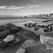 Outgoing tide at Wingaersheek Beach, Gloucester, MA on Cape Ann