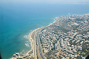 Aerial Photography of Haifa, Israel