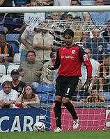 Photo: Lee Earle.<br /> West Bromwich Albion v Hull City. Coca Cola Championship. 05/08/2006. Albion keeper Pascal Zuberbuhler.