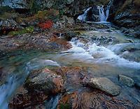 Ruisseau du Cot (stream) close to Cirque de Troumouse, Ruisseau du Cot, Pyrenees, France