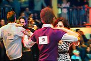 Nederland, Nijmegen, 26-1-2007 ..Afdansen bij danscentrum Vermeulen. In verschillende stijlen kon een certificaat verkregen worden. Stijldansen is weer erg populair onder jongeren...Foto: Flip Franssen/Hollandse Hoogte