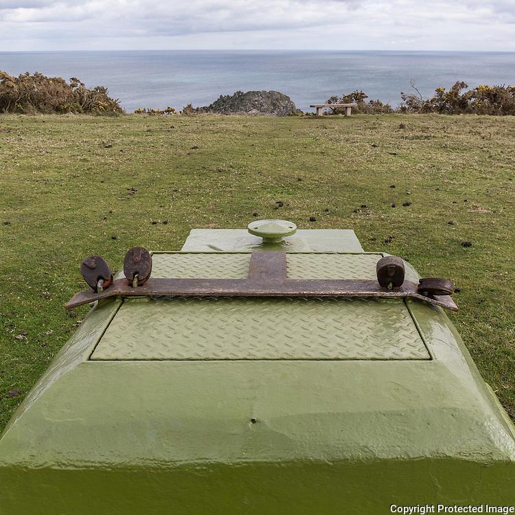 Cold War Bunker, Nare Head, Cornwall.