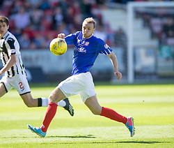 Cowdenbeath's Greig Spence. <br /> Dunfermline 7 v 1 Cowdenbeath, SPFL Ladbrokes League Division One game played 15/8/2015 at East End Park.