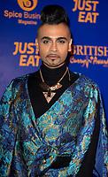 Jay Kamiraz at  the British Curry Awards, at Evolution Battersea park London.