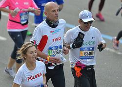 01-11-2015 USA: NYC Marathon We Run 2 Change Diabetes day 4, New York<br /> De dag van de marathon, 42 km en 195 meter door de straten van Staten Island, Brooklyn, Queens, The Bronx en Manhattan / Tino