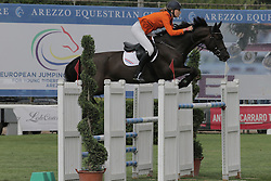 Morsink Veronique (NED) - Belina<br /> FEI European Jumping Championship for juniors <br /> Arezzo 2014<br /> © Hippo Foto - Stefano Secchi
