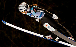 February 8, 2019 - Juliane Seyfarth of Germany on first competition day of the FIS Ski Jumping World Cup Ladies Ljubno on February 8, 2019 in Ljubno, Slovenia. (Credit Image: © Rok Rakun/Pacific Press via ZUMA Wire)