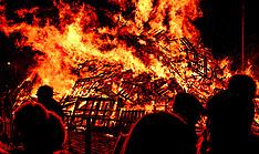 Hogmanay Bonfire, Biggar, 31 December 2018