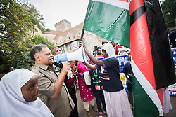 """16 June 2017, Nairobi, Kenya: Sheikh Abdalla Kamwana, Chair, Inerela+ Kenya. On 16 June, more than 500 people gathered to commemorate the Day of the African Child in Nairobi, Kenya, and to speak up publicly for the rights of children and adolescents living with HIV. Religious leaders from a range of different faith communities and traditions led a march through the streets of Nairobi, from the All Saints Cathedral to Ufungamano House, accompanied by hundreds of youth and young children from local faith-sponsored schools, after which a ceremony was held where the religious leaders committed publicly to work for children's rights to HIV testing, access to treatment, and freedom from stigma and discrimination, to make sure that those who are in need of treatment are also able to stay on treatment. The day was organized by the World Council of Churches Ecumenical Advocay Alliance together with Inerela+ Kenya, with contributions from a range of other partners. At end of the ceremony, the WCC-EAA launched a global Call to Action entitled """"Act now for children and adolescents living with HIV"""", which was signed by the range of religious leaders."""