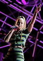 ELLA EYRE on stage at Victorious Festival 2021,photo by Dawn Fletcher-Park