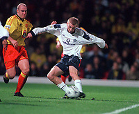 Luke Chadwick. (Manchester United.) 31/10/2000 Watford v Manchester United. Worthington Cup 3rd rd. Credit: Andrew Cowie / Colorsport.