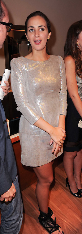 ALEXIA NIEDZIELSKI at a party to celebrate the B.zero 1 design by Anish Kapoor held at Bulgari, 168 New Bond Street, London on 2nd June 2010.