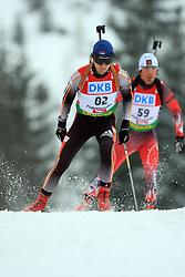 Damir Rastic (SRB) at Men 20 km Individual at E.ON Ruhrgas IBU World Cup Biathlon in Hochfilzen (replacement Pokljuka), on December 18, 2008, in Hochfilzen, Austria. (Photo by Vid Ponikvar / Sportida)