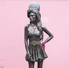 Amy Winehouse statue 13th August 2021