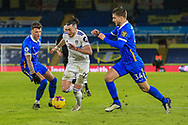 Jack Harrison (22) of Leeds United during the Premier League match between Leeds United and Brighton and Hove Albion at Elland Road, Leeds, England on 16 January 2021.