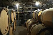 barrel aging cellar dom coche bizouard meursault cote de beaune burgundy france