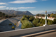 Glendale/Hyperion Bridge, Atwater Village, Los Angeles River, California, USA