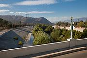 Glendale/Hyperion Bridge, Atwater Village, Los Angeles River, California, USA