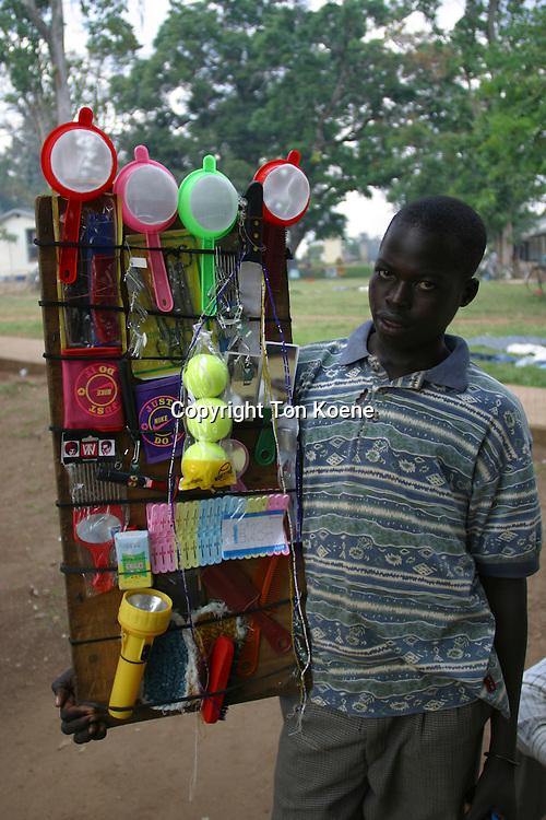 streetvendor in Uganda