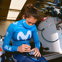 Barbara Guarischi. 2021 Movistar Team Training Camp, Almería. 10.1.2021.