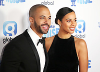 Marvin Humes, Rochelle Humes, Global's Make Some Noise Night in London, Finsbury Square Marquee, London UK, 20 November 2018