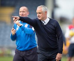 Raith Rovers manager Ray McKinnon.<br /> Raith Rovers 3 v 0 Livingston, SPFL Ladbrokes Premiership game played 8/8/2015 at Stark's Park.