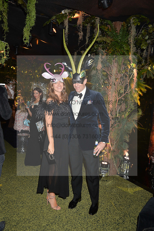 BEN ELLIOT and his wife MARY CLARE ELLIOT at The Animal Ball presented by Elephant Family held at Victoria House, Bloomsbury Square, London on 22nd November 2016.