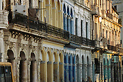 Colonial architecture in old Havana, Cuba.