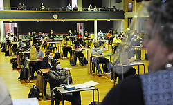 South Africa - Cape Town - 25 May 2020 - Coronavirus - The Settlers High School. Teachers return to school today, some feeling good about returning while some say they feel somewhat scared. Grade 7 and 12 learners are expected to return to school on the 1 June. This as level 4 lockdown allows schools to reopen with restrictions amid COVID-19 pandemic. Picture Courtney Africa/African News Agency(ANA)