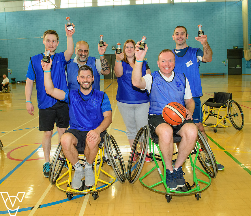 Lincolnshire Co-operative wheelchair basketball team building session with Lincolnshire Sport held at the University of Lincoln.<br /> <br /> Picture: Chris Vaughan/Chris Vaughan Photography<br /> Date: September 14, 2016