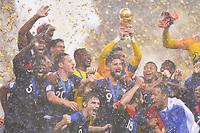 TROPHEE<br /> <br /> SOCCER : France vs Croatia - World Cup 2018 - Final - 07/15/2018<br /> Frankrike - Kroatia<br /> <br /> Norway only