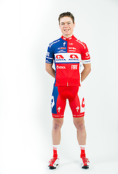 Matej Drinovec during photo session of Continental cycling team KK Adria Mobil for season 2016, on February 15, 2016 in Novo mesto, Slovenia. Photo by Vid Ponikvar / Sportida