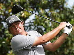 May 3, 2019 - Charlotte, NC, USA - Jason Dufner practices his swing at the 16th tee box during second round action of the Wells Fargo Championship at Quail Hollow Club Friday, May 3, 2019 in Charlotte, N.C. Dufner finished the round at -11. (Credit Image: © TNS via ZUMA Wire)